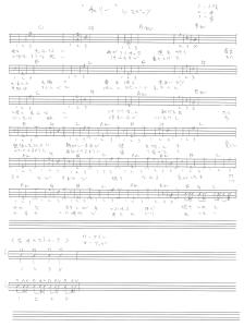 ウクレレタブ譜-チェリーbyスピッツ